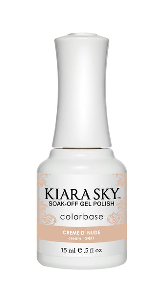 Kiara Sky Gel Polish - G431 CREME D' NUDE KS GEL POLISH