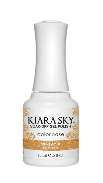 Kiara Sky Gel Polish - G433 STRIKE GOLD KS GEL POLISH