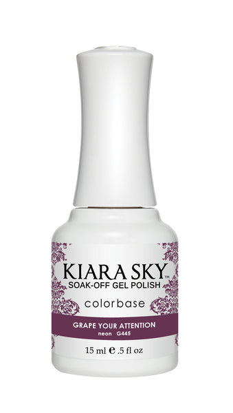 Kiara Sky Gel Polish - G445 GRAPE YOUR ATTENTION KS GEL POLISH