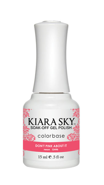 Kiara Sky Gel Polish - G446 DON'T PINK ABOUT IT KS GEL POLISH