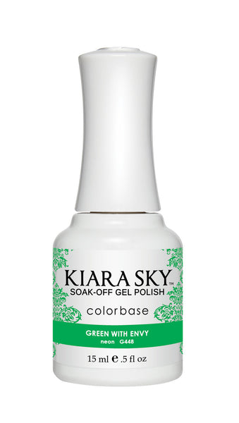 Kiara Sky Gel Polish - G448 GREEN WITH ENVY