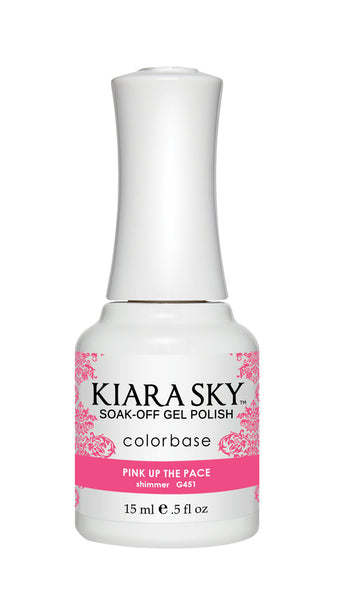 Kiara Sky Gel Polish - G451 PINK UP THE PACE