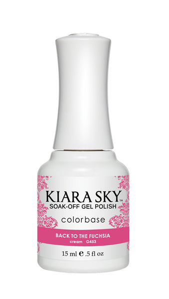 Kiara Sky Gel Polish - G453 BACK TO THE FUCHSIA