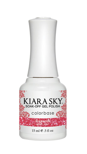 Kiara Sky Gel Polish - G461 FORBIDDEN