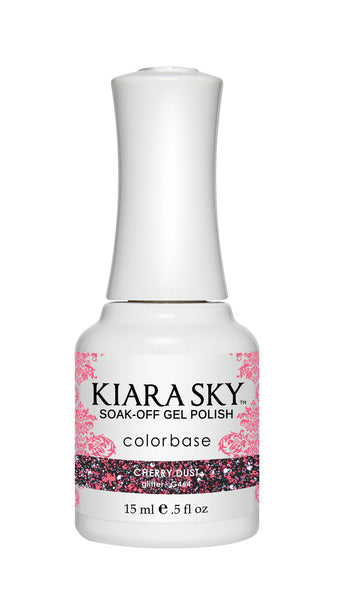 Kiara Sky Gel Polish - G464 CHERRY DUST