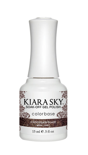 Kiara Sky Gel Polish - G467 CHOCOLATE GLAZE