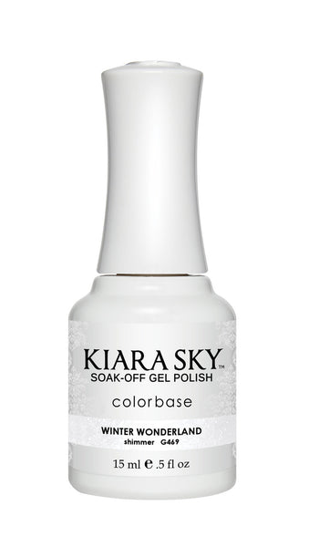 Kiara Sky Gel Polish - G469 WINTER WONDERLAND
