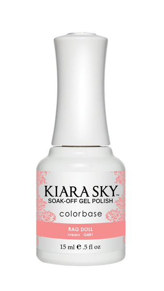Kiara Sky Gel Polish - G481 RAG DOLL
