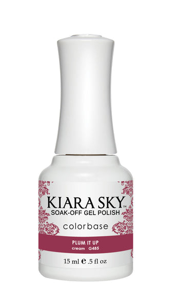 Kiara Sky Gel Polish - G485 PLUM IT UP