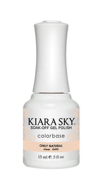 Kiara Sky Gel Polish - G492 ONLY NATURAL