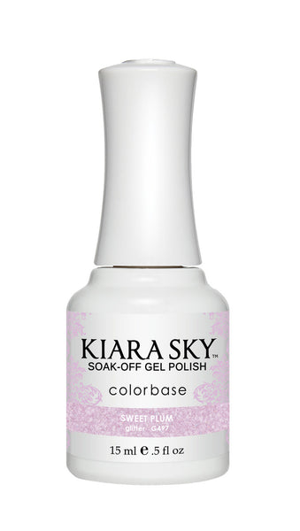 Kiara Sky Gel Polish - G497 SWEET PLUM