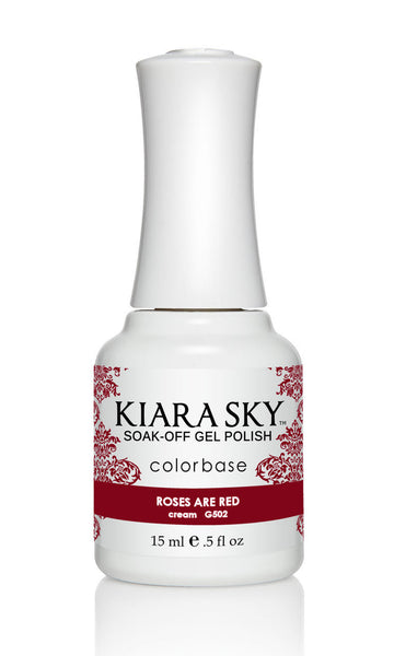 Kiara Sky Gel Polish - G502 ROSES ARE RED