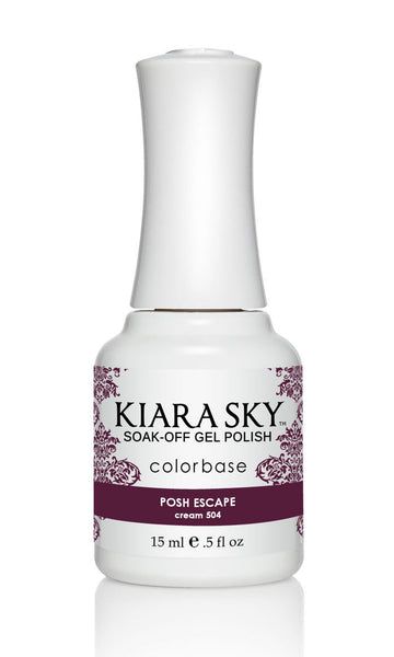 Kiara Sky Gel Polish - G504 POSH ESCAPE