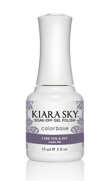 Kiara Sky Gel Polish - G506 I LIKE YOU A LILY KS GEL POLISH