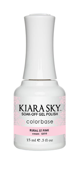 Kiara Sky Gel Polish - G510 RURAL ST. PINK KS GEL POLISH