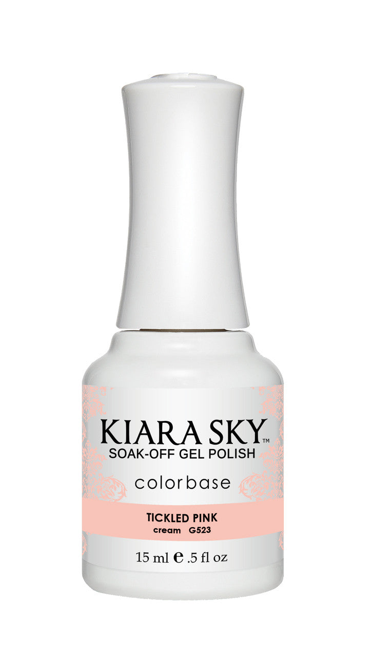 Kiara Sky Gel Polish - G523 TICKLED PINK KS GEL POLISH