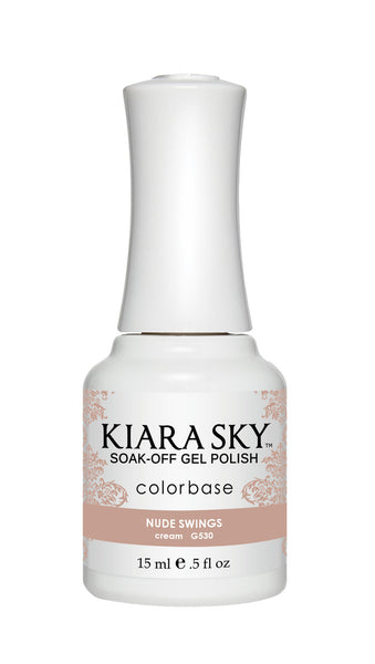 Kiara Sky Gel Polish - G530 NUDE SWINGS KS GEL POLISH