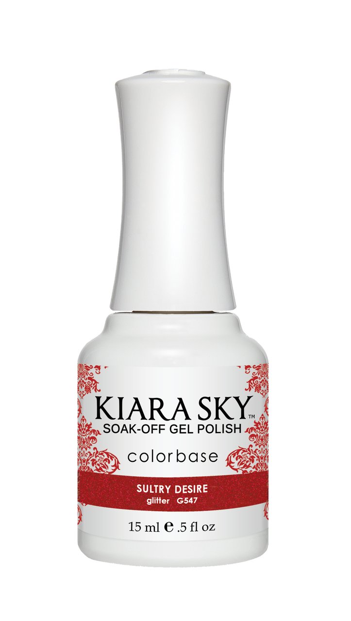 Kiara Sky Gel Polish - G547 SULTRY DESIRE KS GEL POLISH
