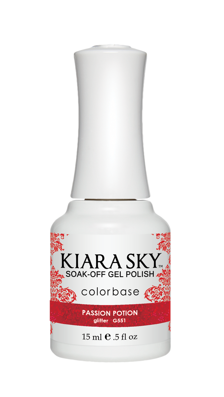 Kiara Sky Gel Polish - G551 PASSION POTION KS GEL POLISH