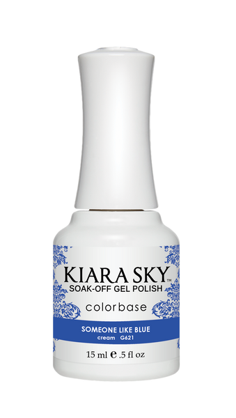 Kiara Sky Gel Polish - G621 SOMEONE LIKE BLUE