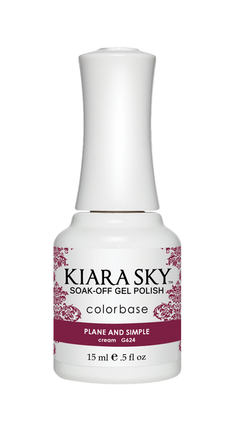 Kiara Sky Gel Polish - G624 PLANE AND SIMPLE