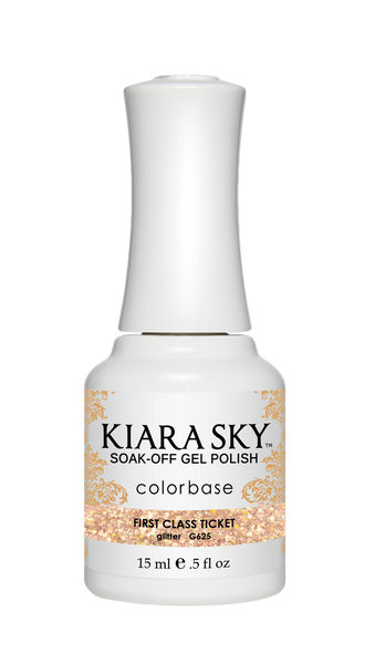 Kiara Sky Gel Polish - G625 FIRST CLASS TICKET