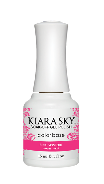 Kiara Sky Gel Polish - G626 PINK PASSPORT