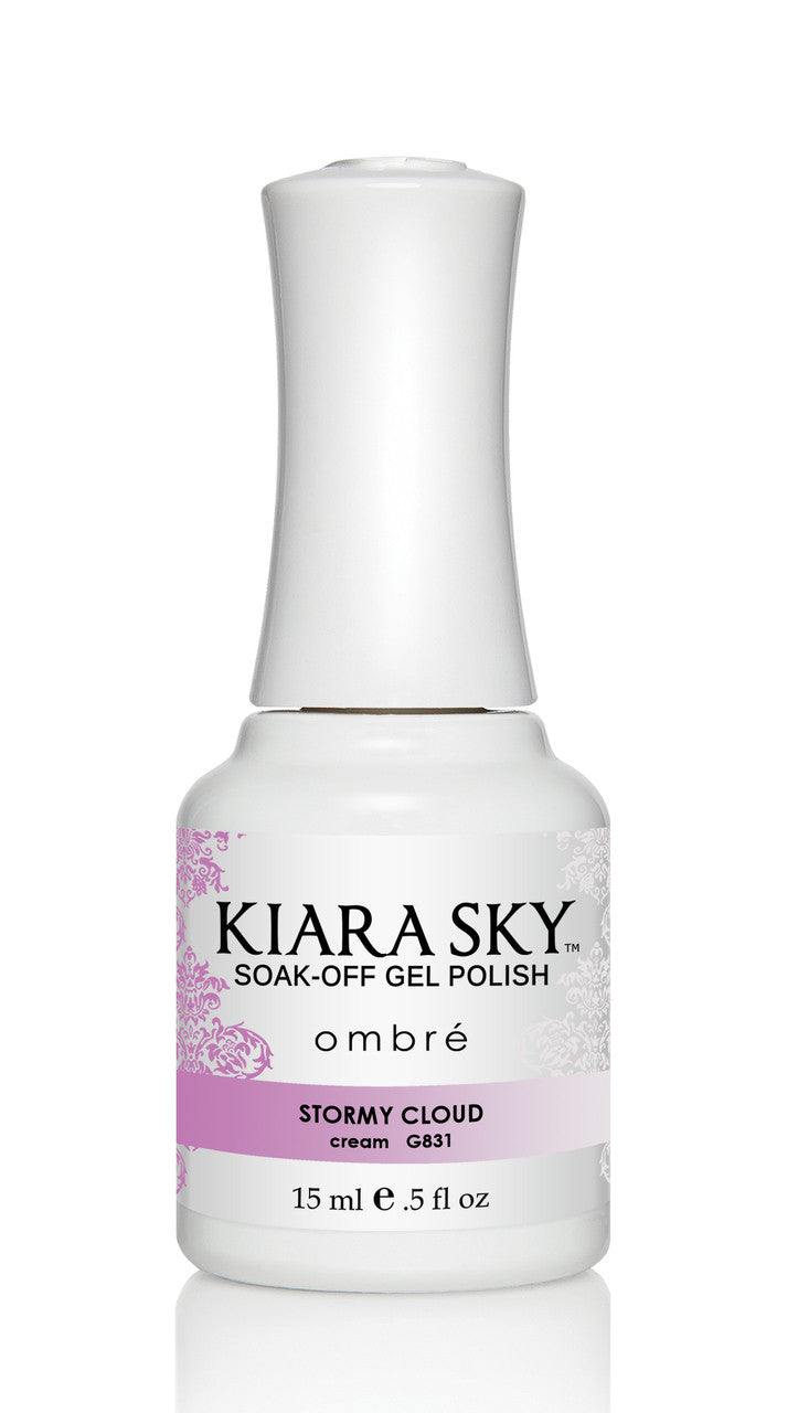 Kiara Sky Gel Polish Ombre - G831 STORMY CLOUD