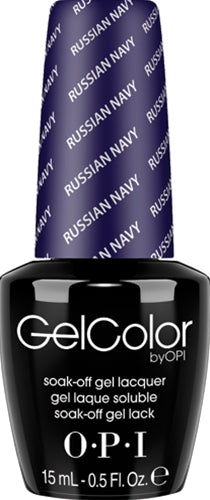 OPI GelColor - RUSSIAN NAVY