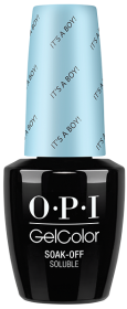 OPI GelColor - It's a Boy!