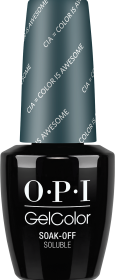 OPI GelColor - CIA = Color is Awesome