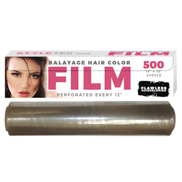Lucas International StyleTek - Balayage Cling film 12″x12″ 500 sheets