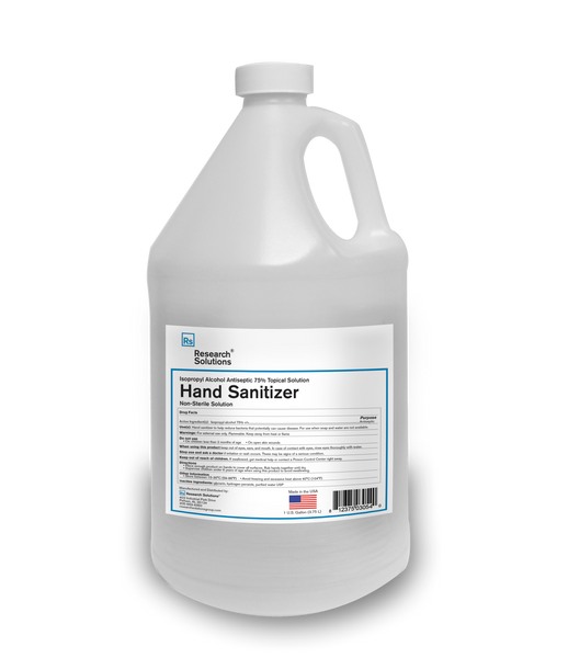 "Research Solution-Hand Sanitizer Alcohol Antiseptic *Non-Sterile Solution (IN STORE PICK UP ITEM ONLY! At checkout must deselect ""SHIP"" and select ""PICK UP"" to purchase this item)"
