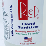 RED BZK HAND SANITIZER-Alcohol-Free