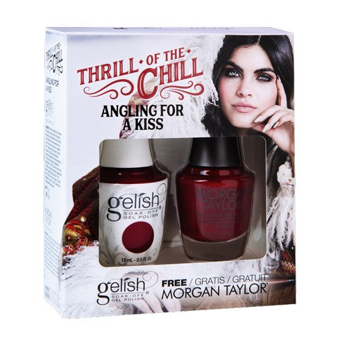 Gelish Thrill Of The Chill Matching - Angling For A Kiss