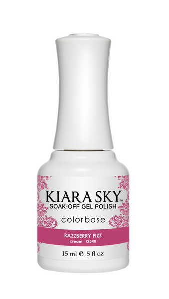Kiara Sky Gel Polish - G540 RAZZBERRY FIZZ KS GEL POLISH