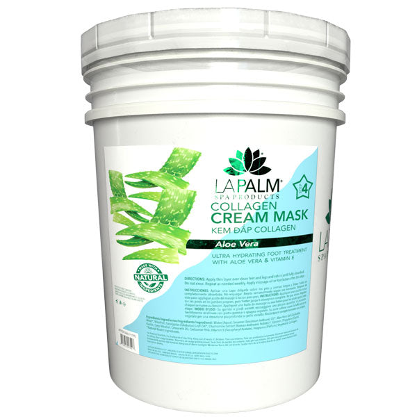 La Palm - Warming Butter Foot Mask - Aloe Vera - 1 Gallon & 5 Gallon For Oahu Only