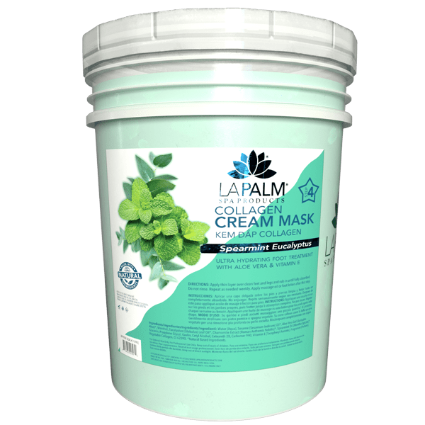 La Palm - Collagen Cream Mask - Spearmint Eucalyptus (FOR OAHU ONLY)