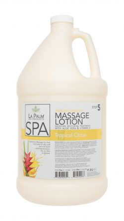 La Palm - Organic Healing Therapy Massage Lotion Tropical Citrus