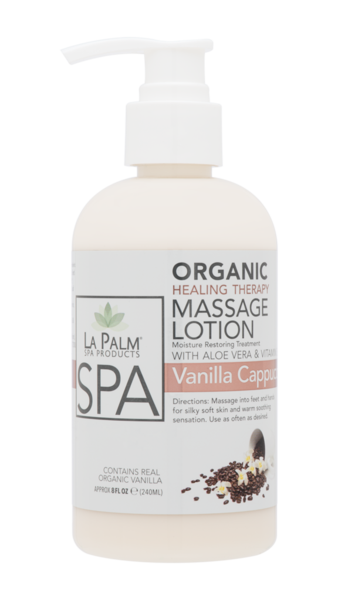 La Palm - Organic Healing Therapy Massage Lotion Vanilla Cappuccino