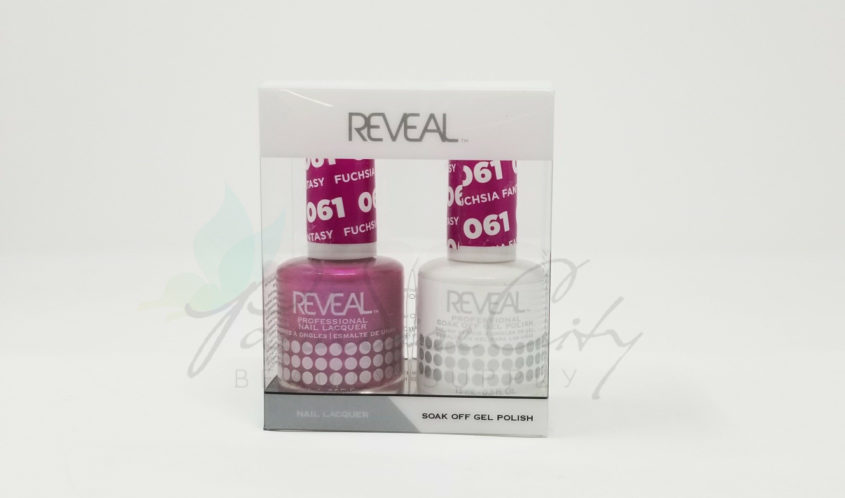 Reveal Matching Gel Polish & Nail Lacquer - 061 Fuchsia Fantasy ...
