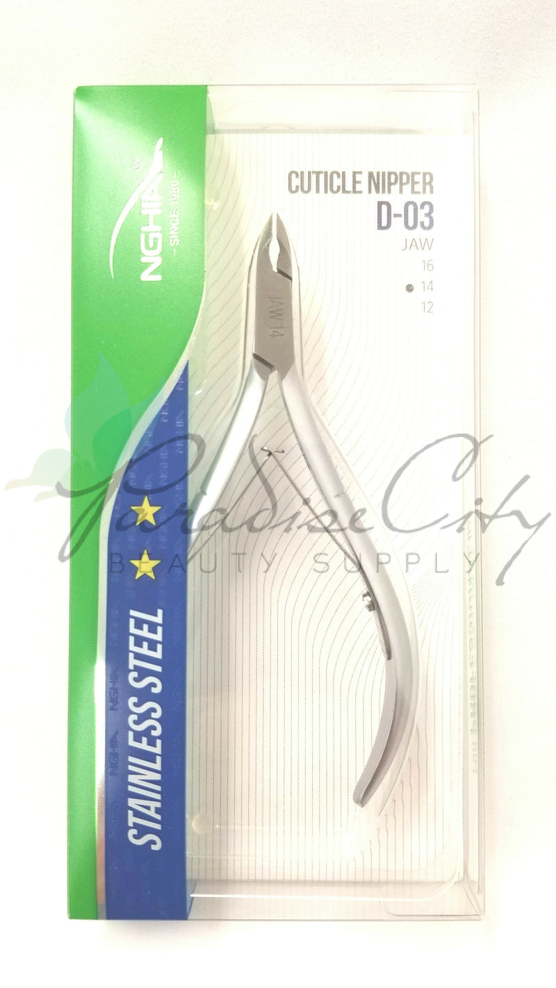 Nghia Stainless Steel Cuticle Nipper - D-03