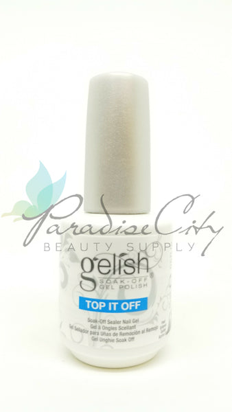 Gelish Top It Off Soak-Off Gel Polish - Original Bottle