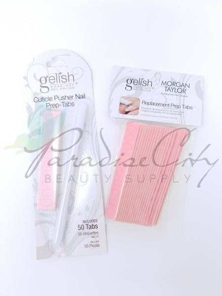 Gelish - Disposable Cuticle Pusher w/ Nail Prep Tabs