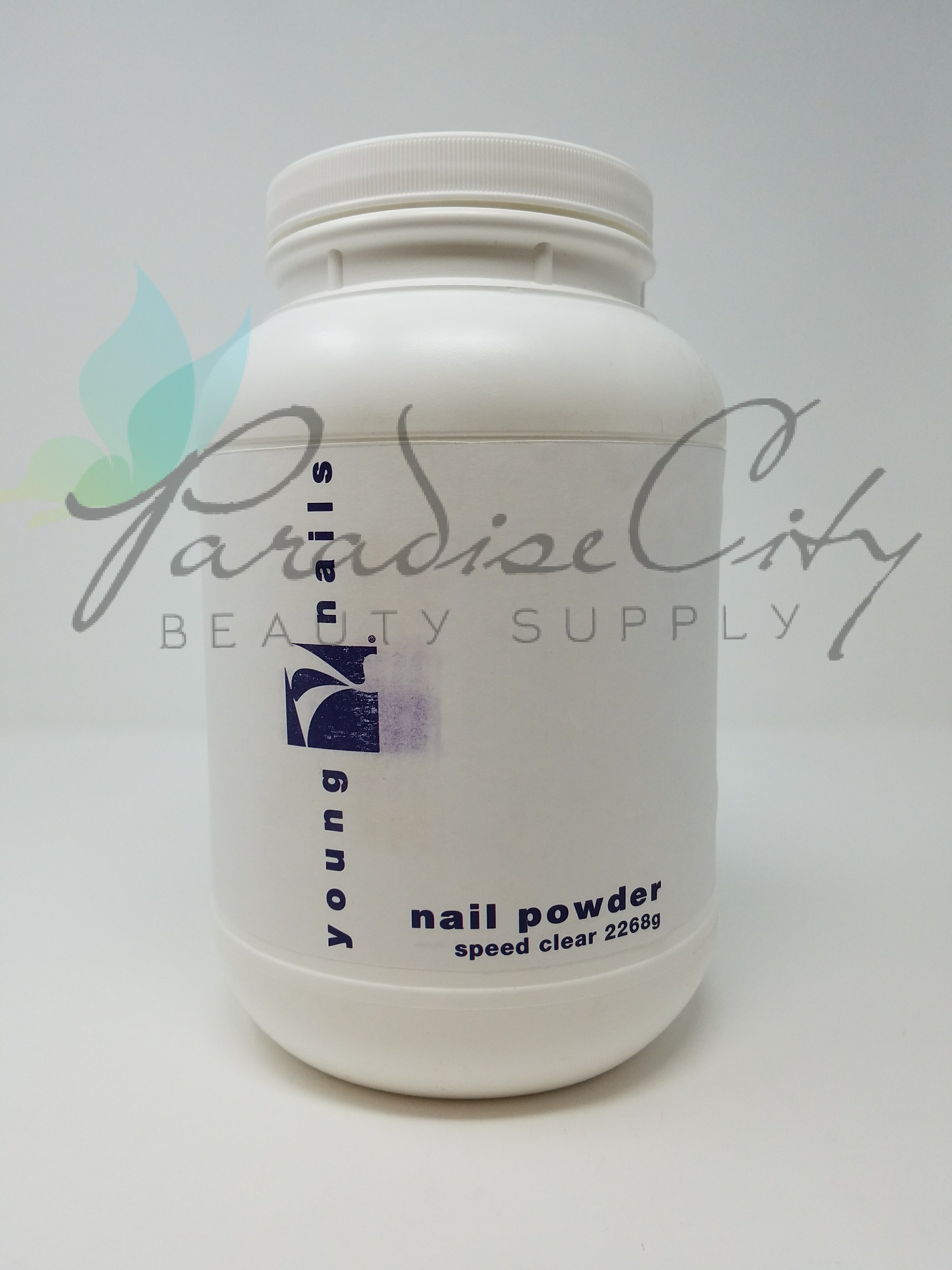 Young Nails - Speed Powder Clear – Paradise City Beauty Supply