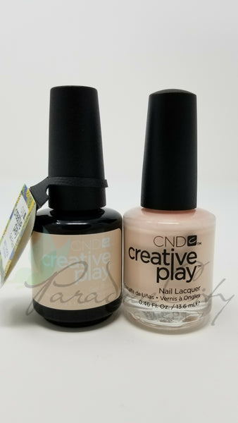 CND Creative Play Matching Gel Polish & Nail Lacquer - #402 Life's A Cupcake
