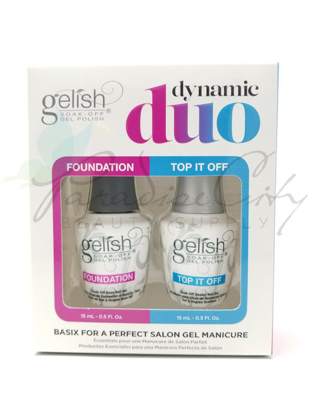 Gelish Dynamic Duo - Foundation & Top It Off