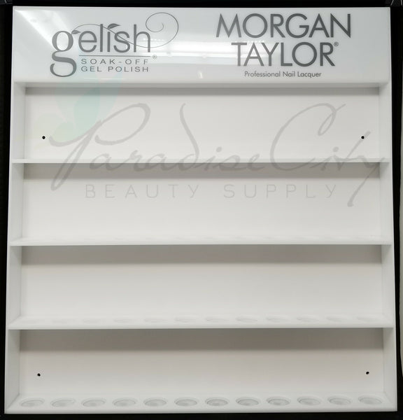 Hand & Nail Harmony - Gelish & Morgan Taylor 48 Polish Bottles Display Rack