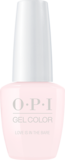 OPI GelColor (2017 Bottle) - Love Is In The Bare (NEW BOTTLE)