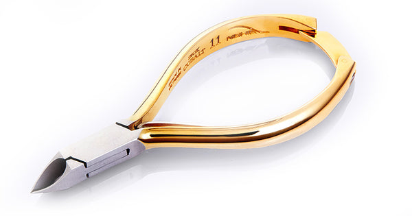 Nghia Stainless Steel Acrylic Cuticle Nipper - M-02V